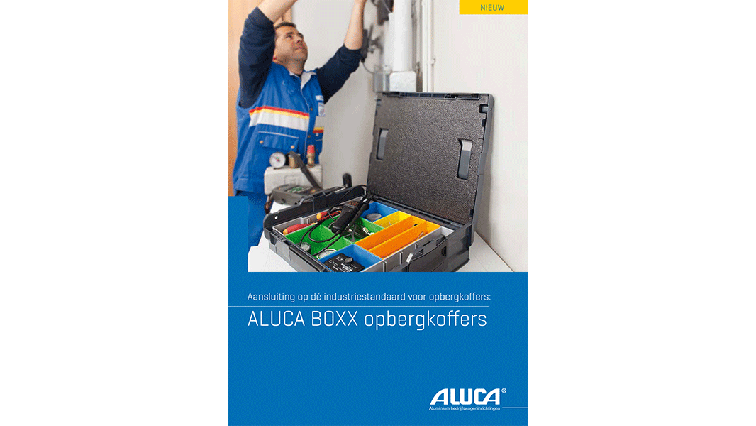 ALUCA opbergkoffers screenshot