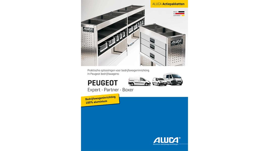 Bedrijfswageninrichting voor Peugeot screenshot